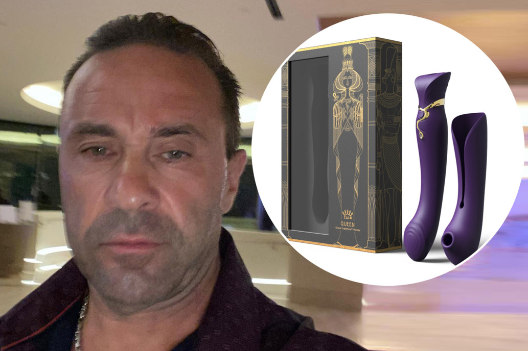 Joe Giudice and Zalo sex toys